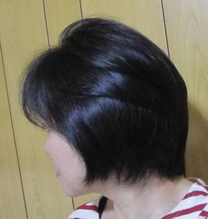 髪のツヤ 50代女性