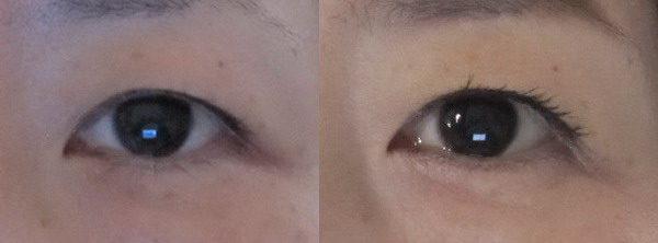 アイライナーで瞳を大きくする技