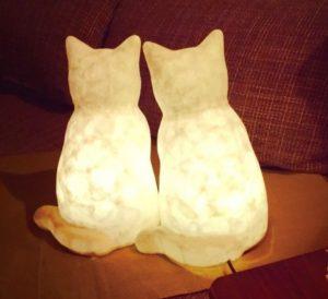 猫 ランプシェード