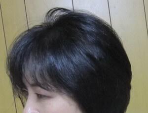 50代 髪のツヤ